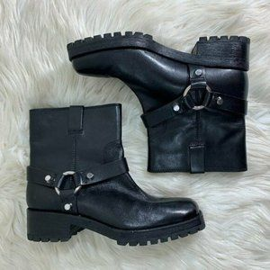 Michael Kors Collection Ankle Moto Boot 36.5